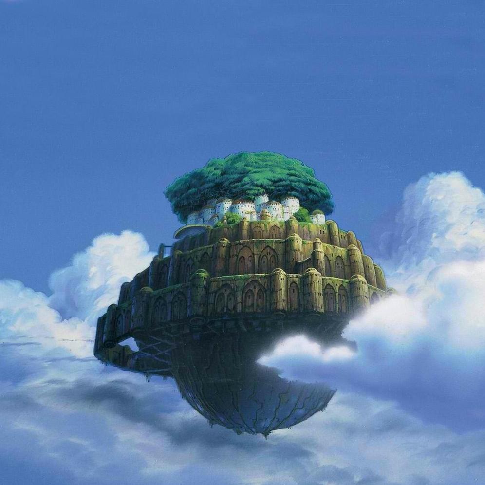 天空之城(经典简易版)dylanf编配-钢琴谱