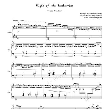 Flight of the Bumble-bee(Jazz)---野蜂飞舞(爵士版)