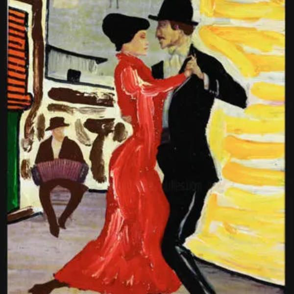 皮革探戈 Tango en Skai-钢琴谱