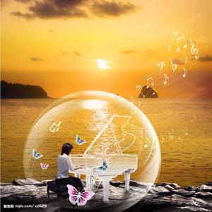 澄镜之水-钢琴谱