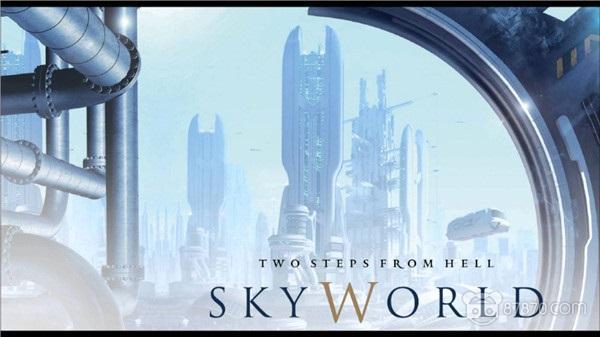 Skyworld钢琴简谱 数字双手