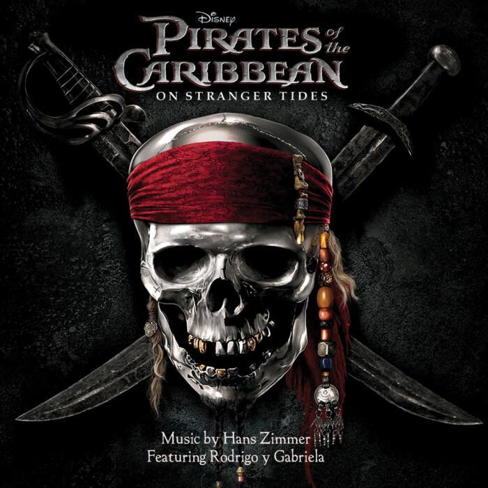 加勒比海盗主题曲(儿童简易版)-钢琴谱