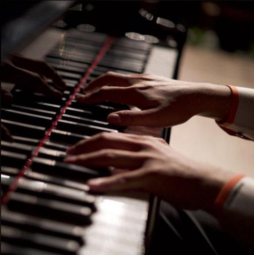 D大调卡农钢琴简谱 数字双手