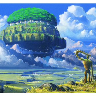 天空之城2020优化版-钢琴谱