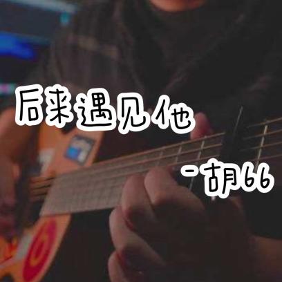 后来遇见他-胡66完美C调弹唱吉他谱