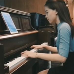 喜欢你-陈洁仪-C调抒情版-钢琴谱