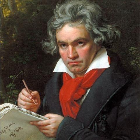 欢乐颂钢琴简谱 数字双手