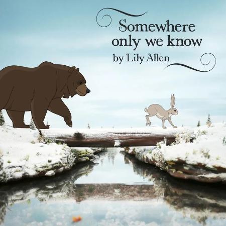 Somewhere Only We Know【弹唱谱】Lily Allen∣Keane「一撇撇耶」-钢琴谱
