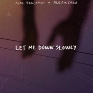 《Let Me Down Slowly》伴奏谱 高度还原(Alec Benjamin、Alessia Cara)-钢琴谱