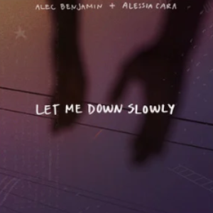 《Let Me Down Slowly》独奏版 高度还原 (Alec Benjamin、Alessia Cara)-钢琴谱