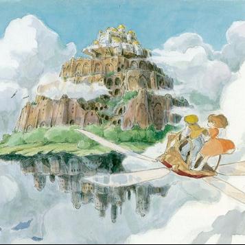 天空之城(小汤4版本)-钢琴谱