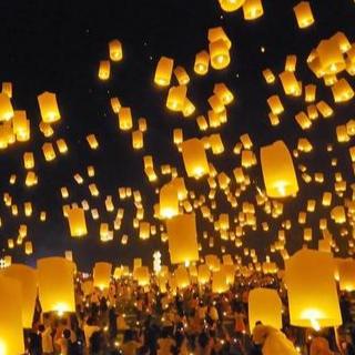 灯火里的中国-钢琴谱