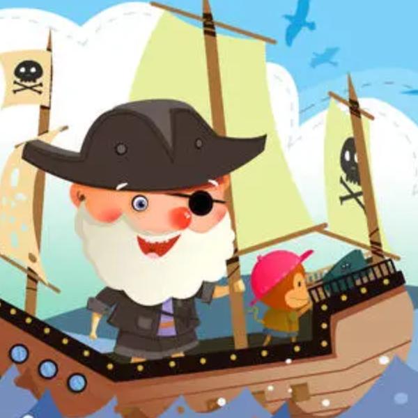 【初学者】加勒比海盗主题曲-他是海盗-钢琴谱