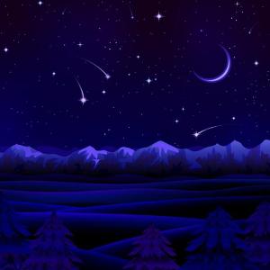 《满目星河》简单完美C调版-钢琴谱