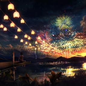 花火が瞬く夜に -好听到爆炸轻音乐钢琴谱