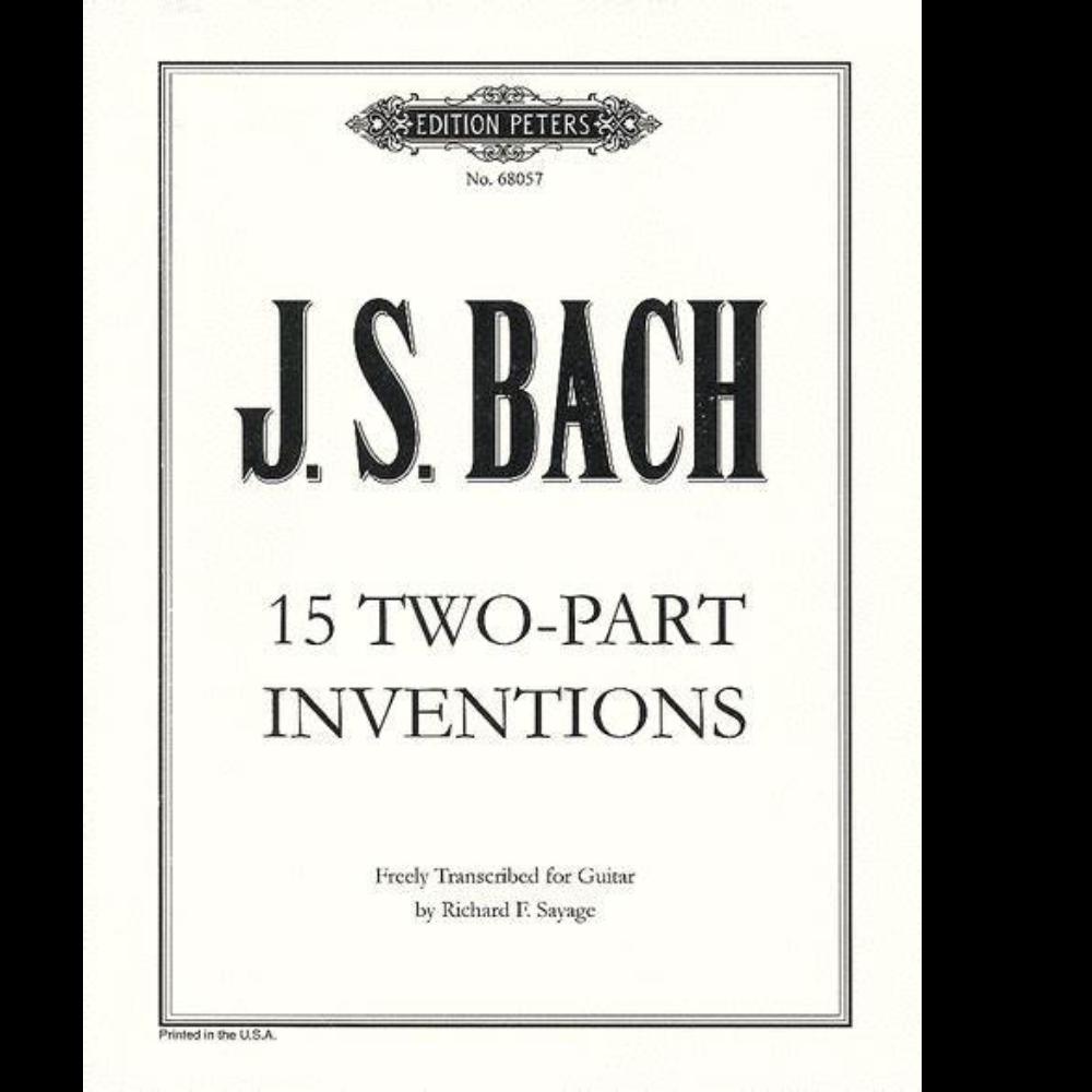 第一号巴赫二部创意曲-钢琴谱