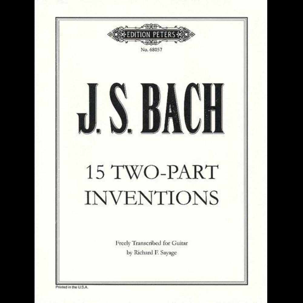 第三号巴赫二部创意曲D大调-钢琴谱