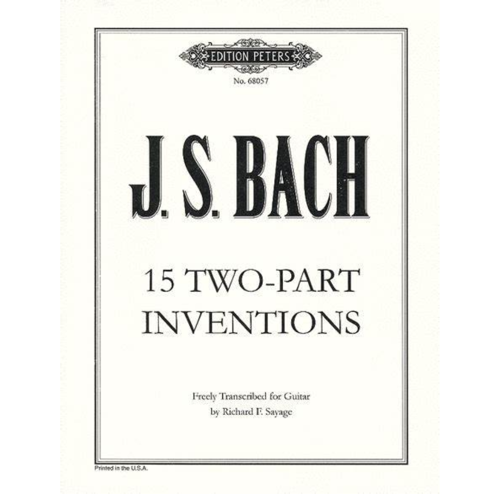 第四号巴赫二部创意曲D小调-钢琴谱