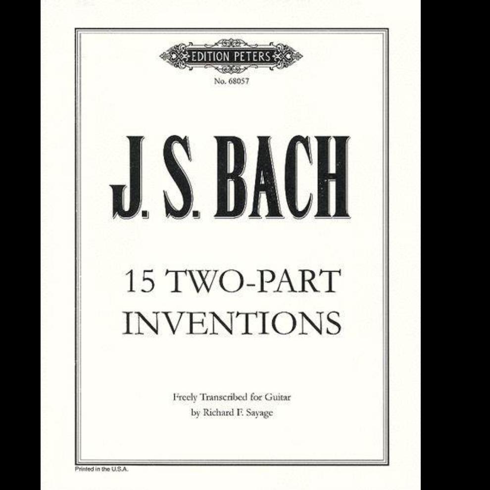 第五号巴赫二部创意曲降E大调-钢琴谱