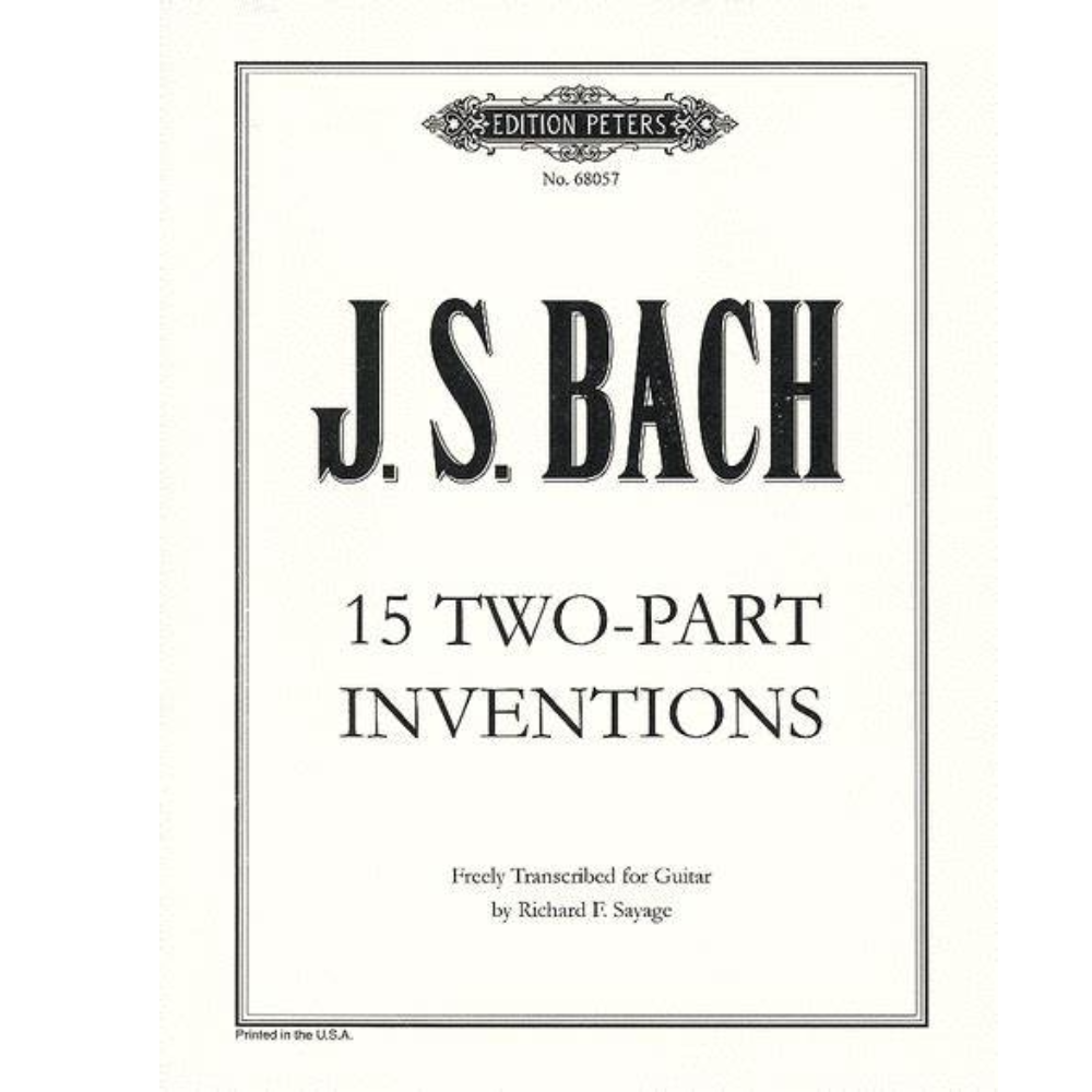 第八号巴赫二部创意曲F大调-钢琴谱
