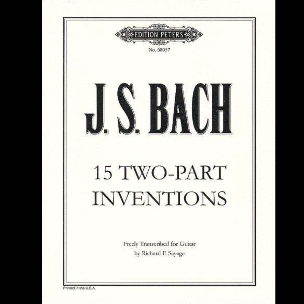 第十三号巴赫二部创意曲A小调-钢琴谱