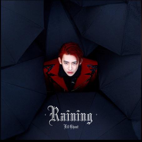 Raining钢琴简谱 数字双手 Lil Ghost小鬼