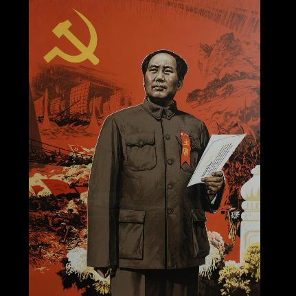 没有共产党就没有新中国 C调初学者易上手带指法版 吴凌云新钢琴基础教程选集-钢琴谱